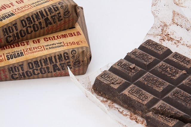 Tryptofan v čokoládě