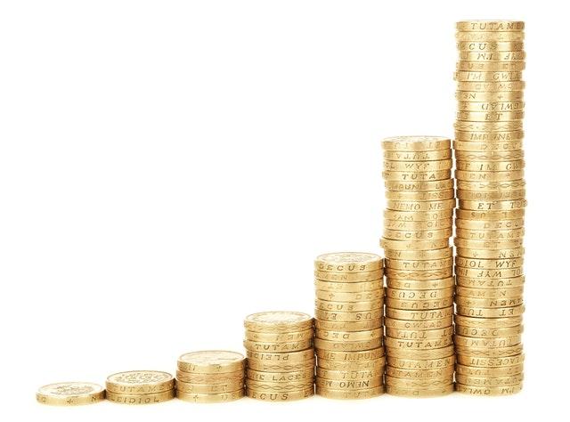 sloupečky z mincí