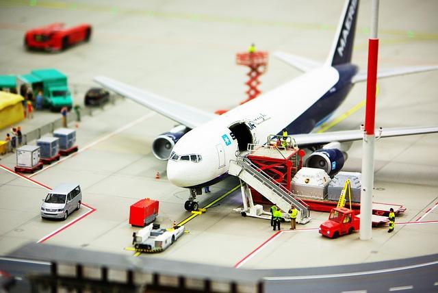 nakládání letadla