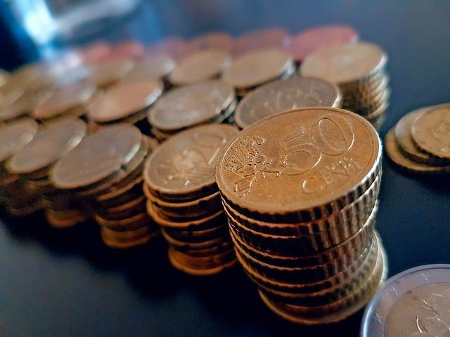 euromince, komínky