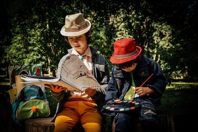 děti na výletě
