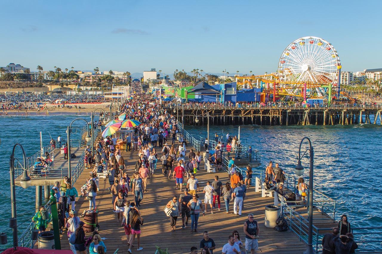 Los Angeles jako cíl dovolené